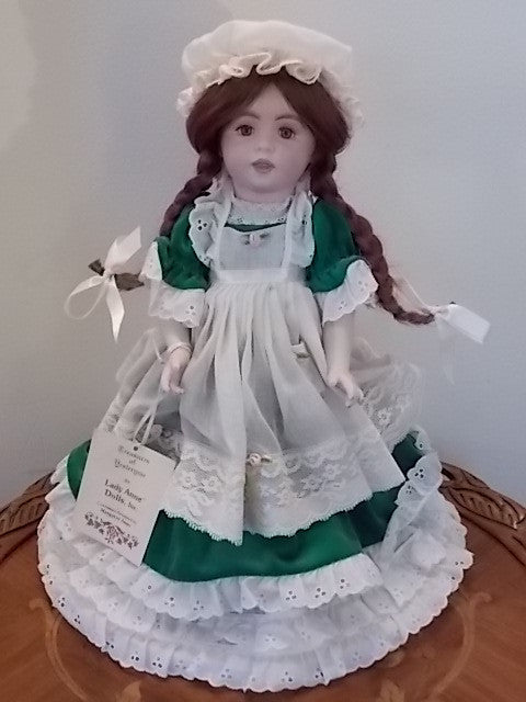 Twirp - porcelain doll made in the Williamsburg Virginia Doll Factory by Margaret Anne Rothwell