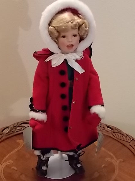 Little Caroler from the series The Shirley Temple Christmas Doll Collection - from the Danbury Mint
