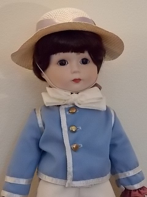 Jack and Jill Porcelain Dolls by Gorham