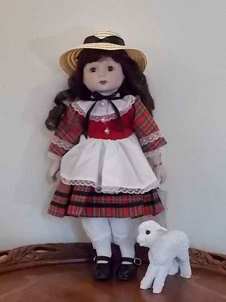 Mary Had A Lamb Doll Boxwood Lane Gorham Dolls