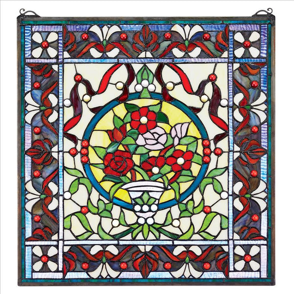Panier des Fleurs Stained Glass