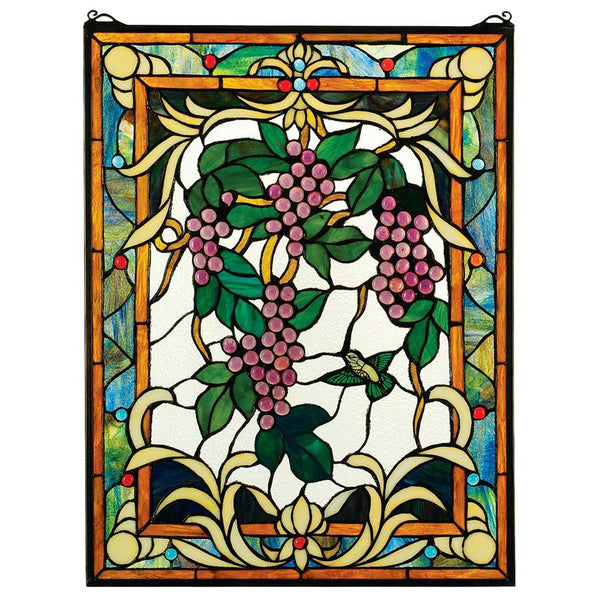 Grape Vineyard Stained Glass