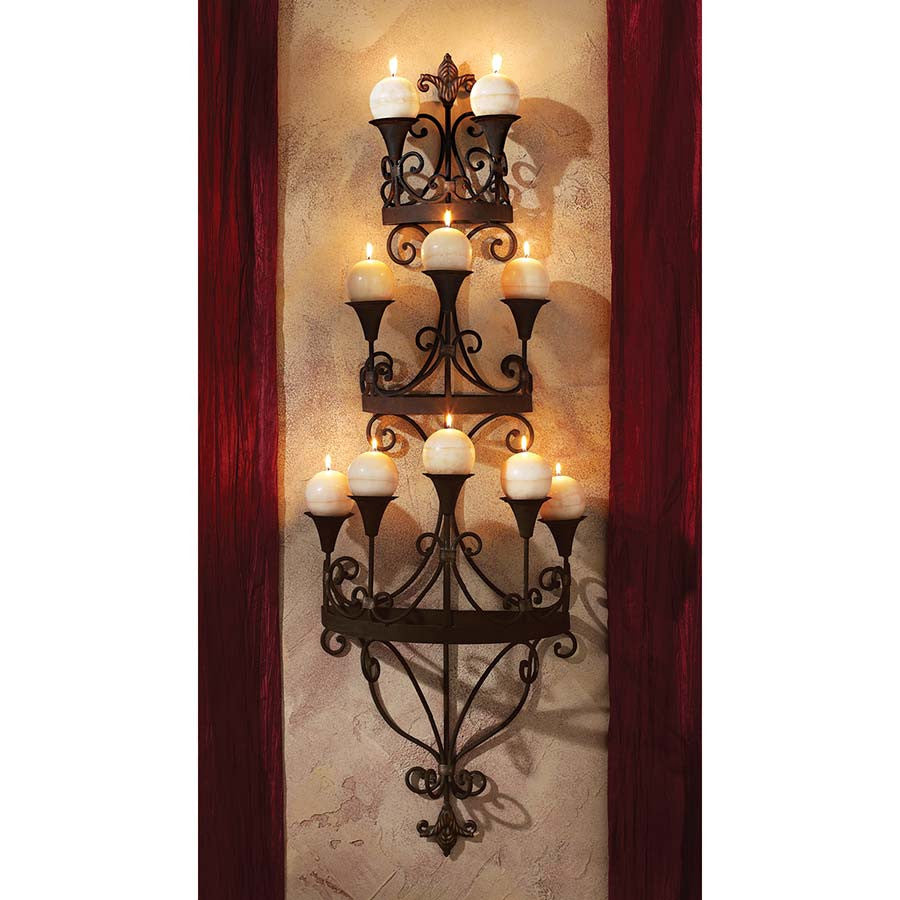 Carbonne Candle Wall Sconce