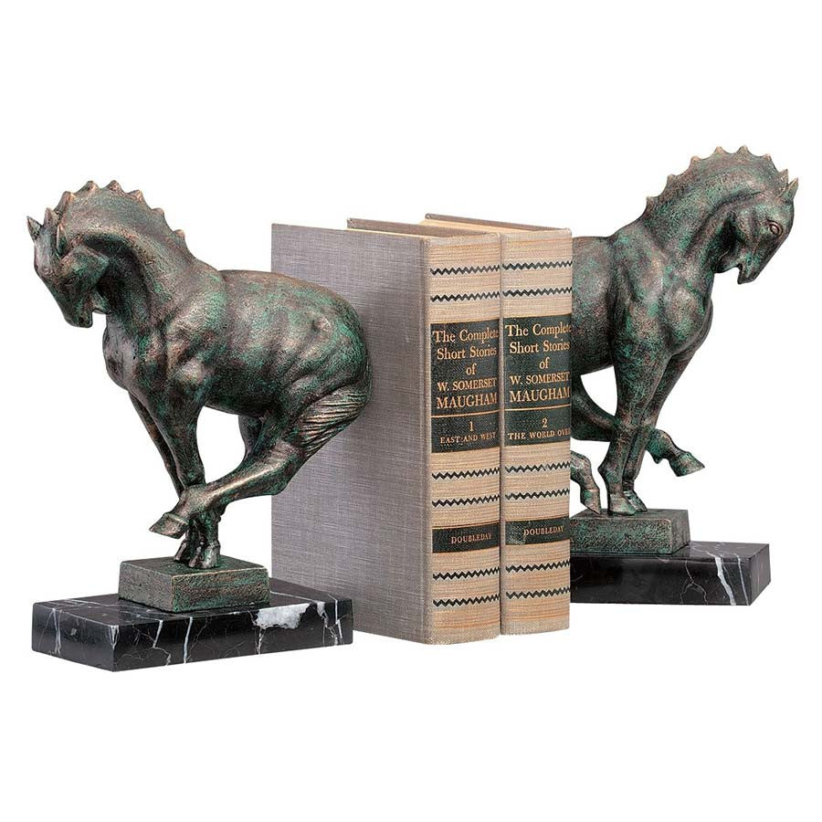 Iron Horse Bookends