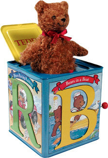 Teddy Bear Jack in the Box by Schylling Toys.