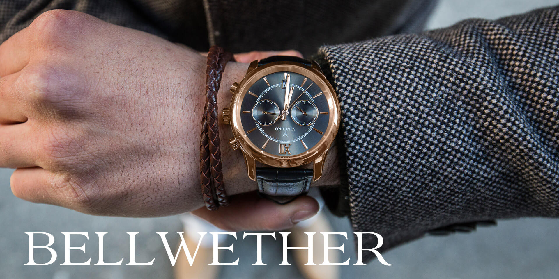 Bellwether Chronograph Dress Watches