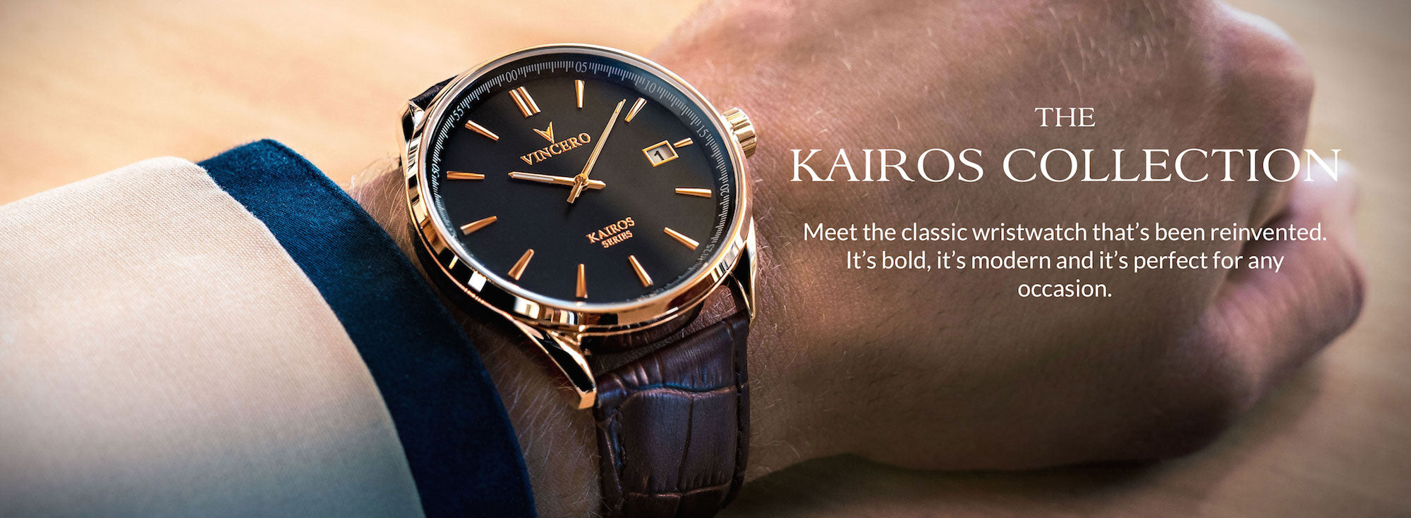 Kairos Collection - Vincero Watches