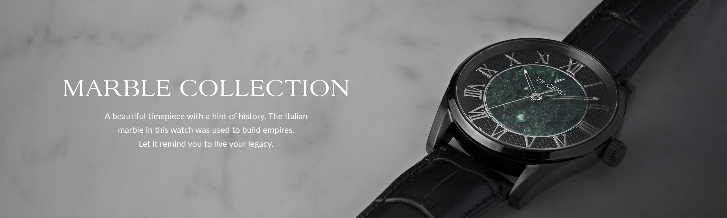 Italian Marble Collection Vincero Watches