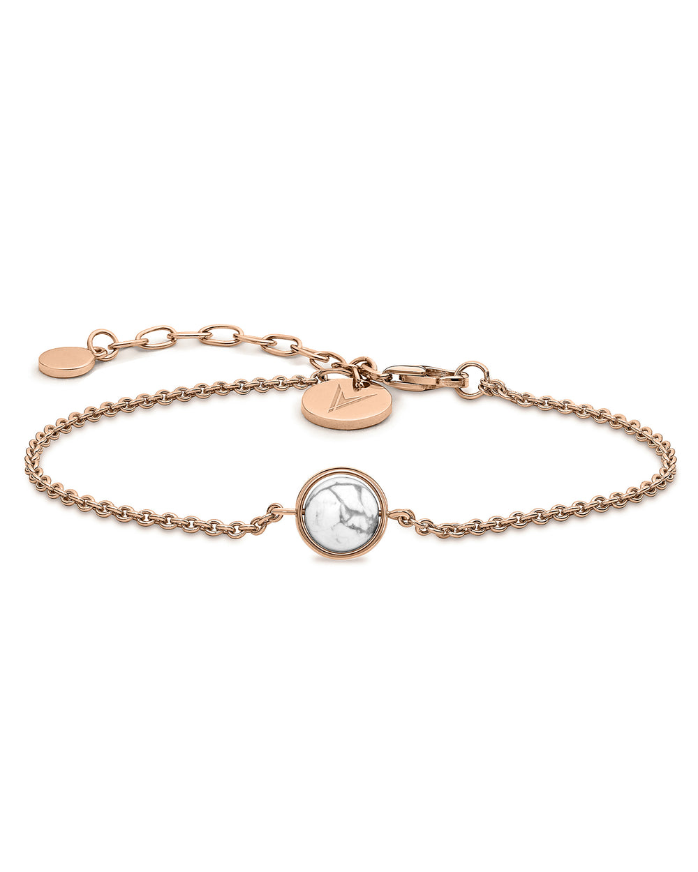 The Bracelet - Rose Gold + Carrara