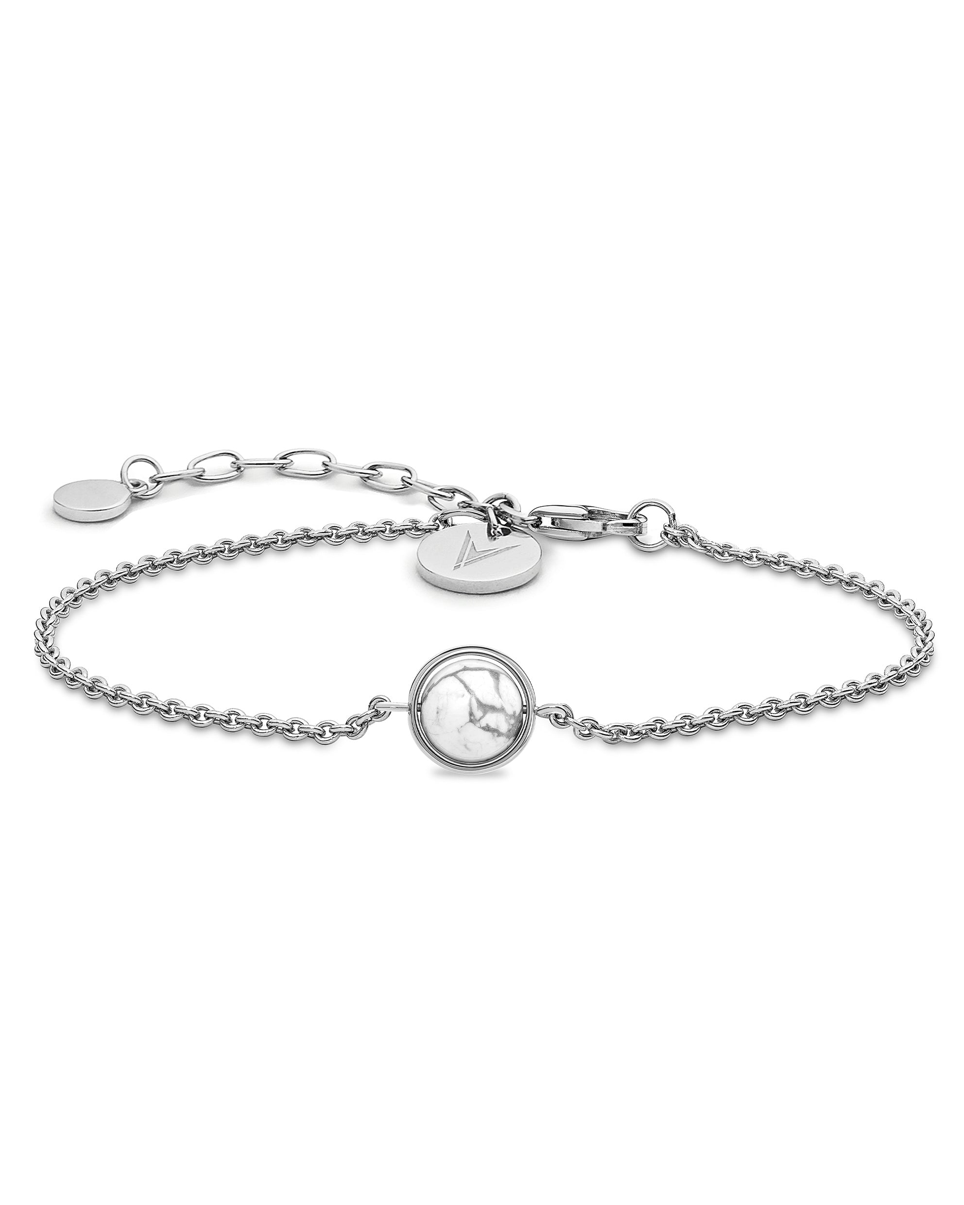 The Bracelet - Silver + Carrara