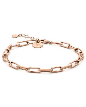 The Chain Link Bracelet - Rose Gold