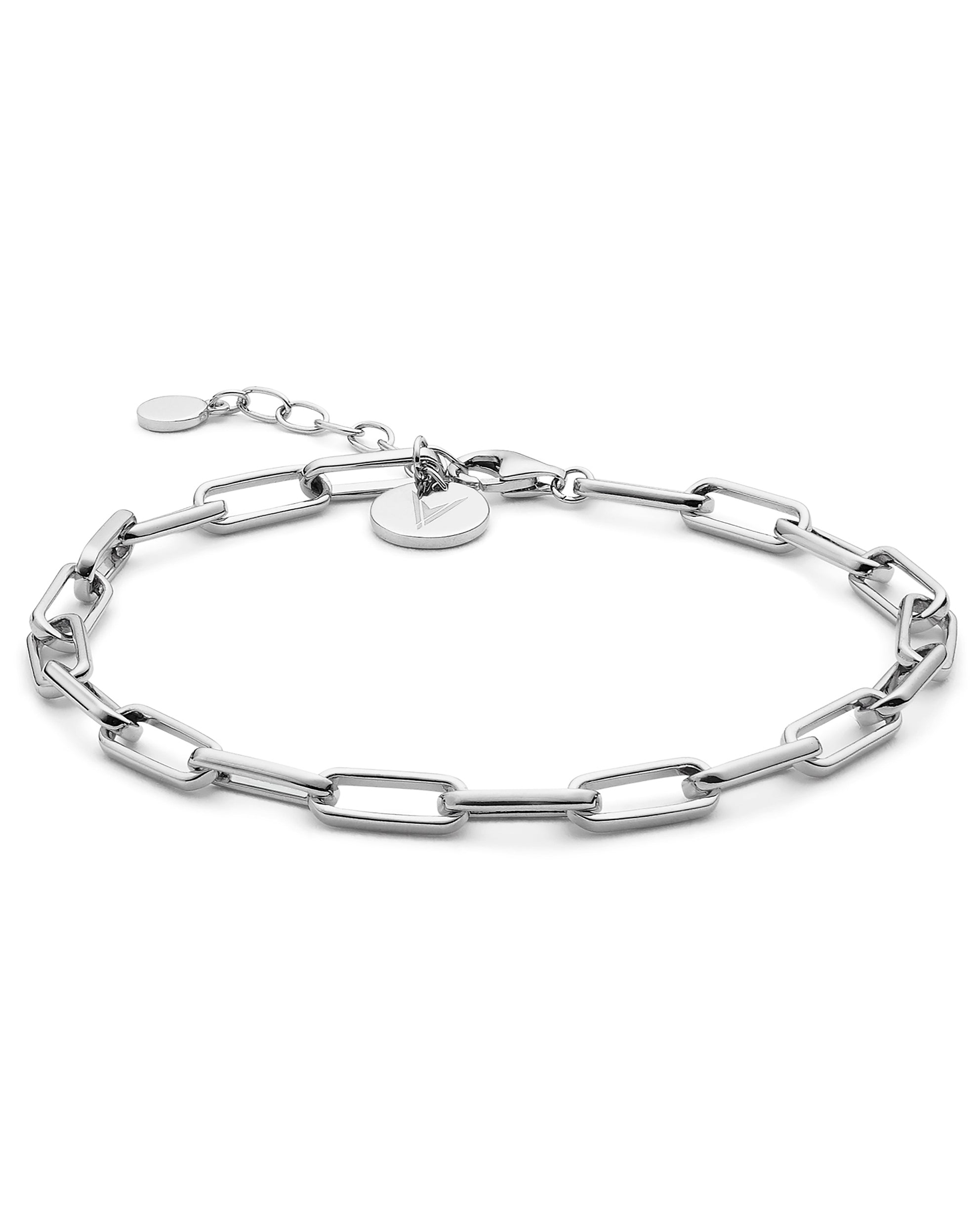 The Chain Link Bracelet - Silver