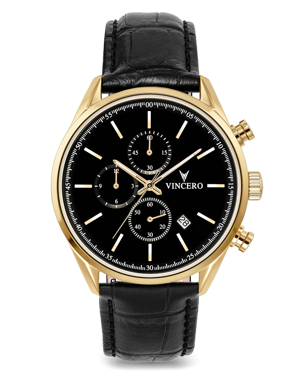 Chrono S - Black/Gold 40mm