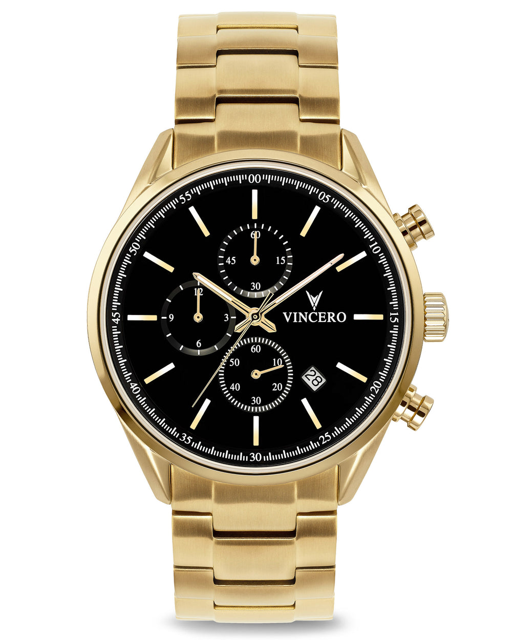 Chrono S - Black/Gold Steel