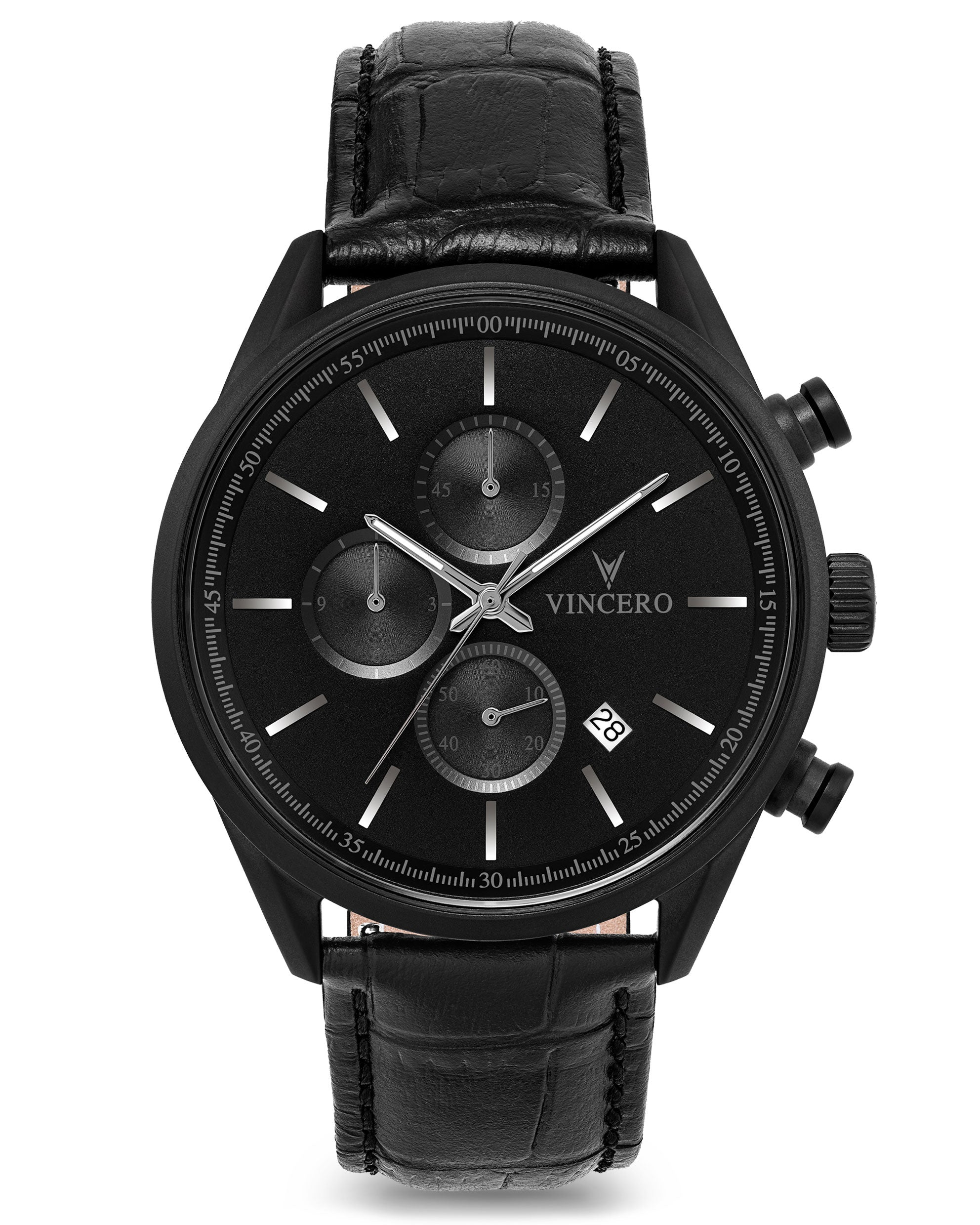 The Chrono S - Matte Black 40mm