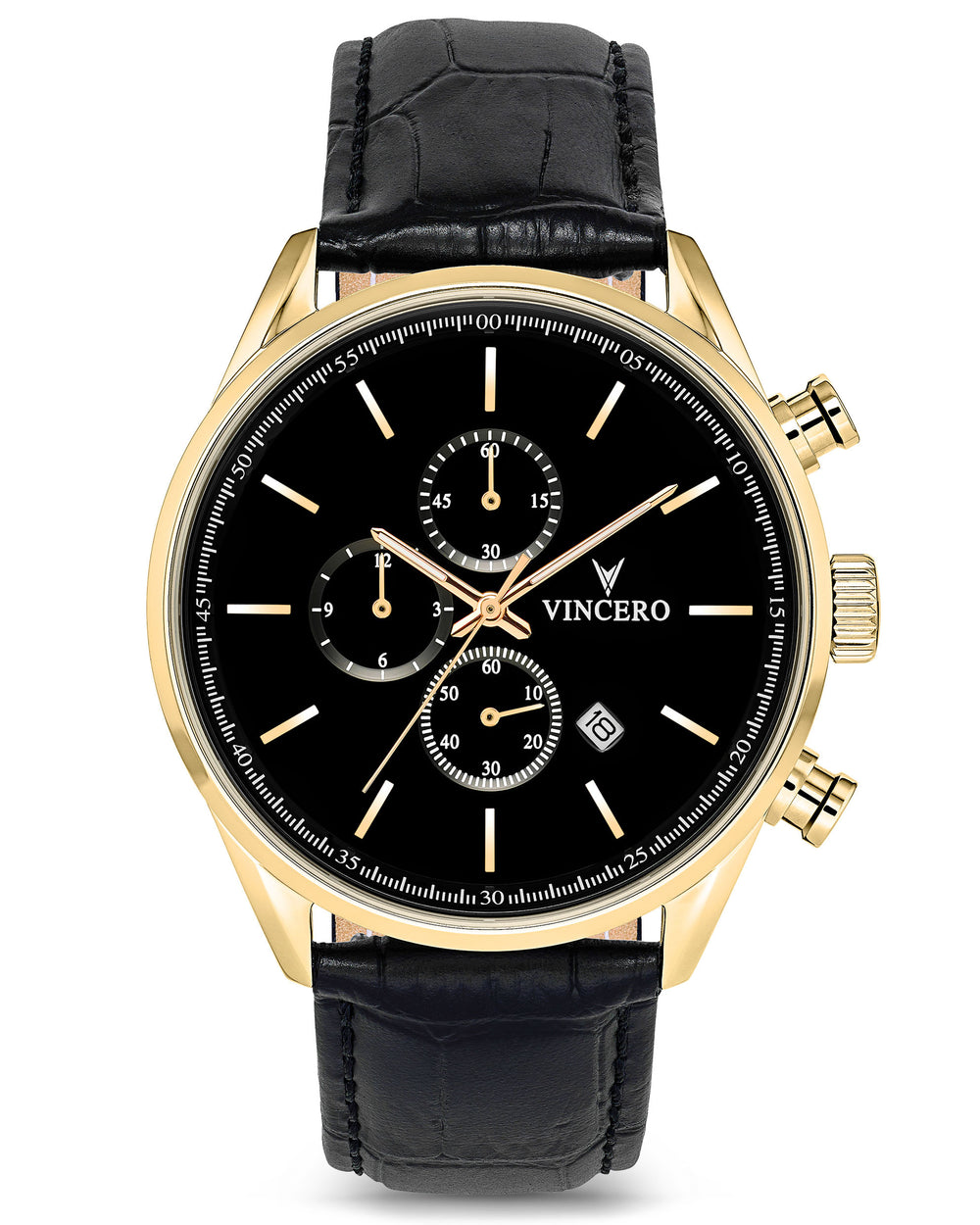 Chrono S - Black/Gold