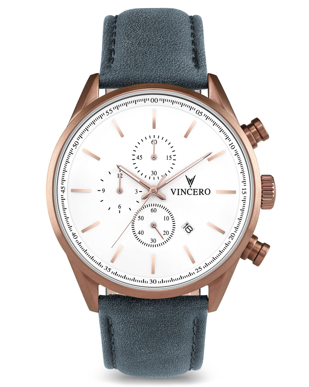 The Chrono S - Copper/Slate Blue
