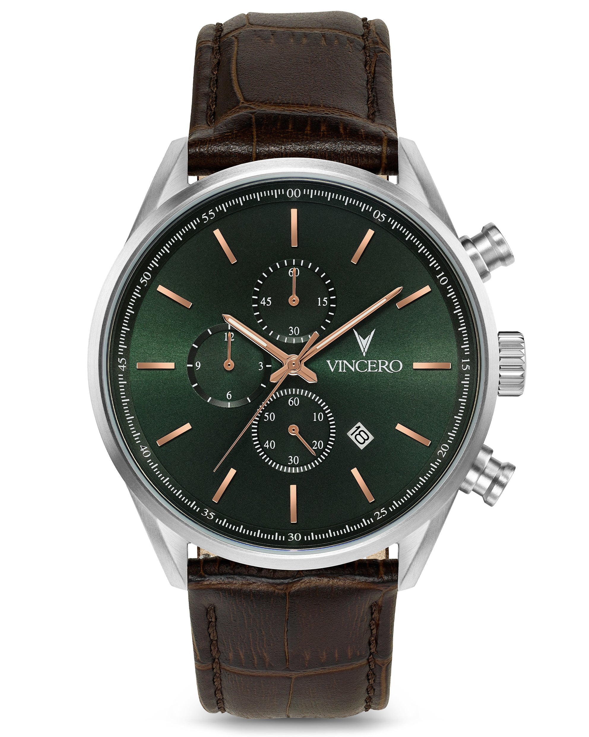 The Chrono S Limited Release - Dark Olive/Silver