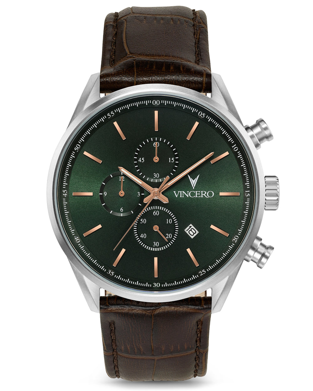 The Chrono S - Dark Olive/Silver