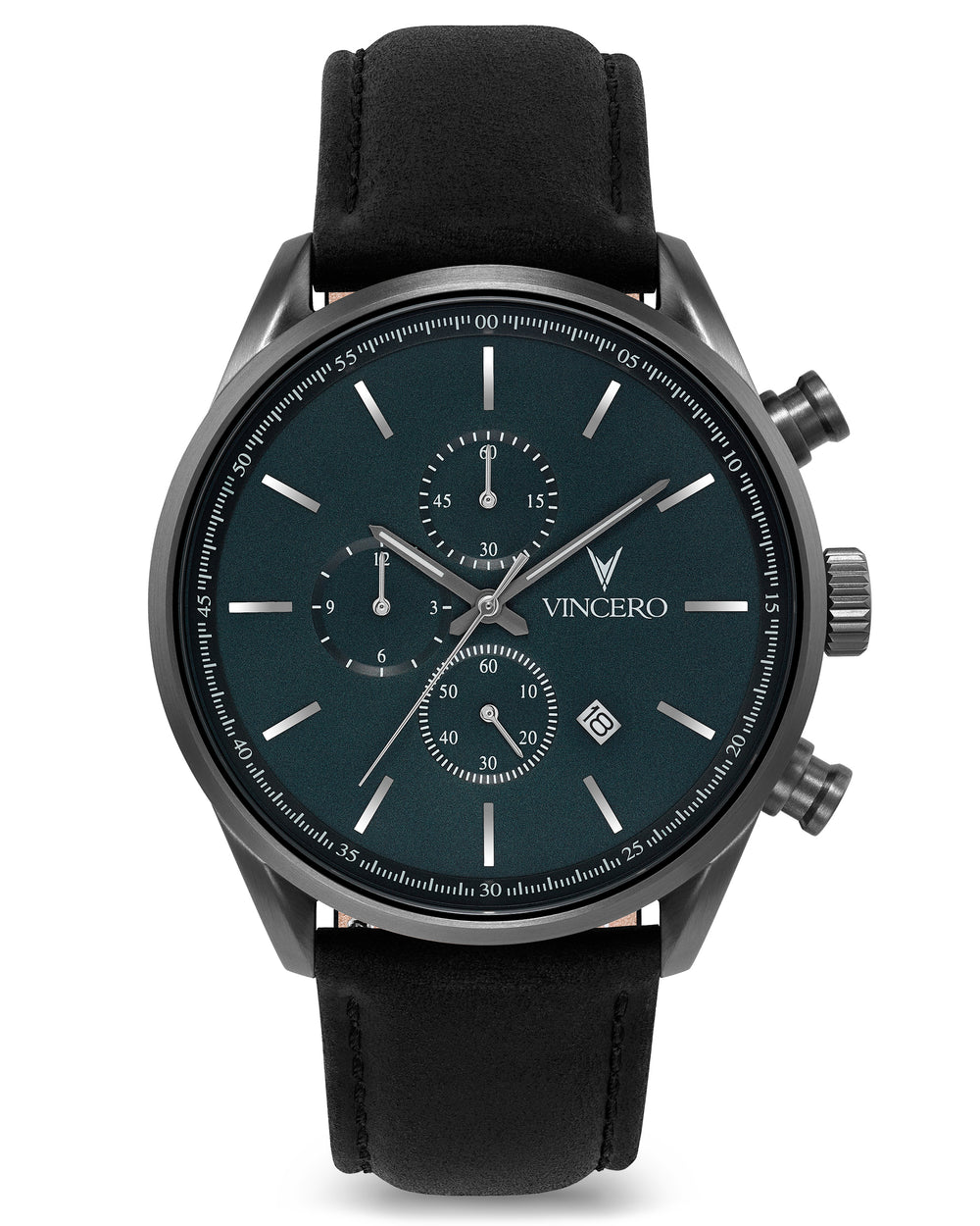 The Chrono S - Gunmetal/Slate Blue