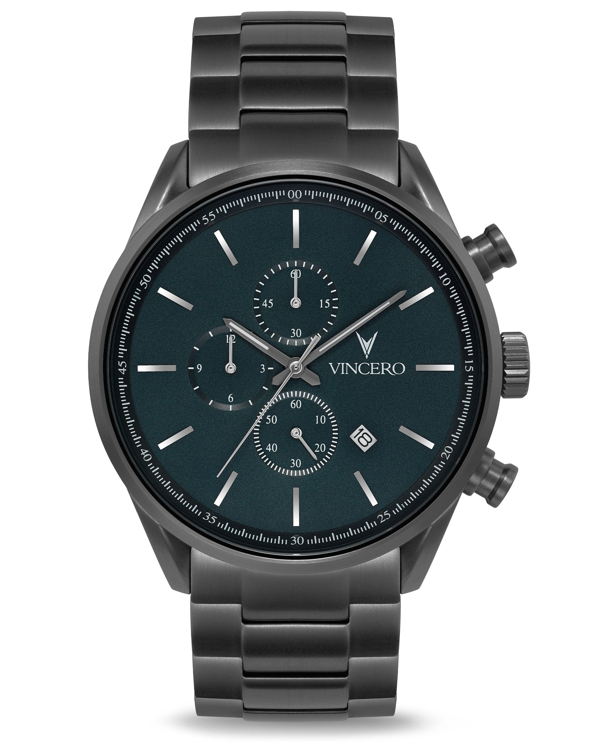 The Chrono S - Gunmetal/Slate Steel