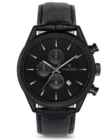 The Chrono S - Matte Black