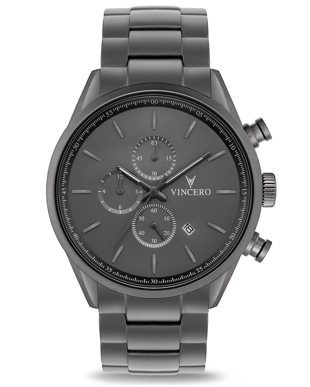 The Chrono S - Matte Gray Steel