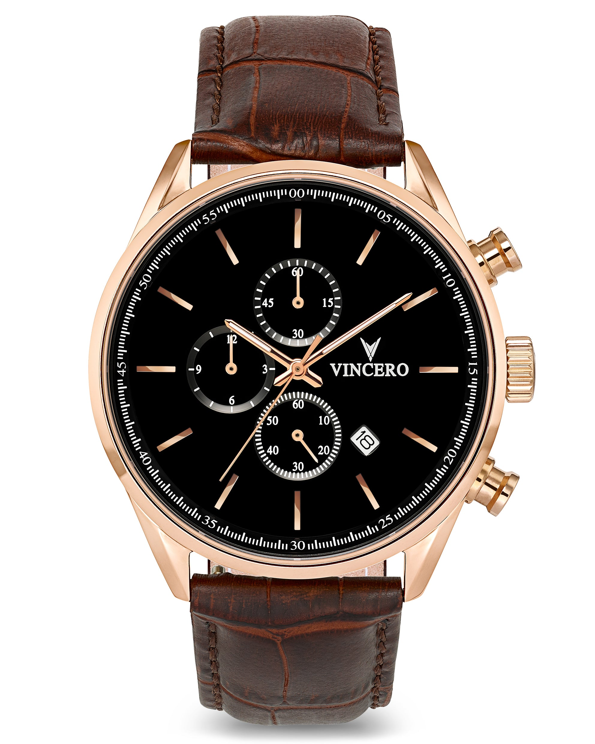 The Chrono S - Rose Gold