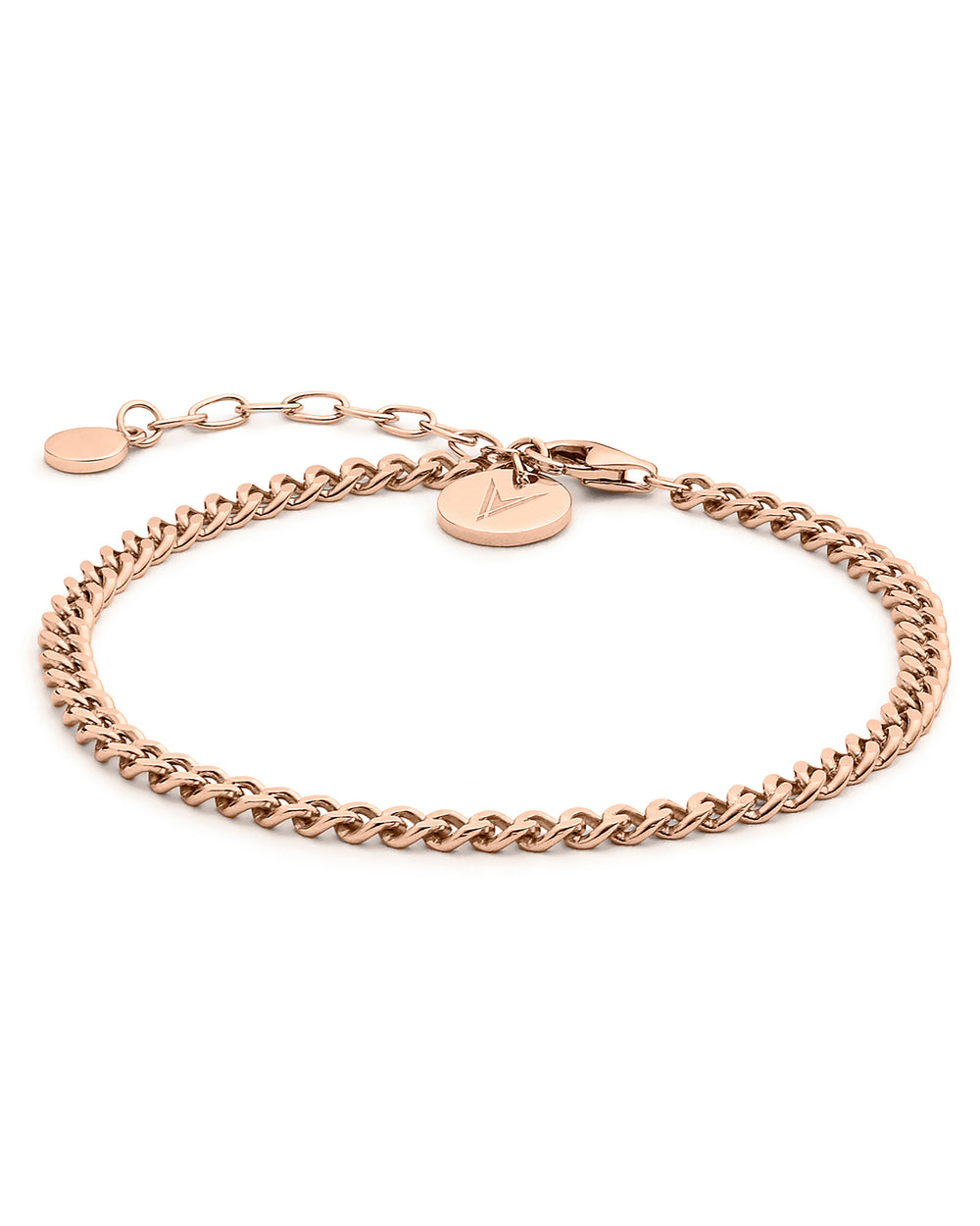 The Cuban Link Bracelet - Rose Gold