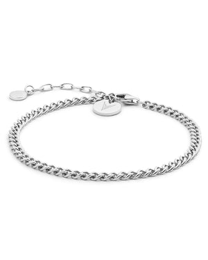 The Cuban Link Bracelet - Silver