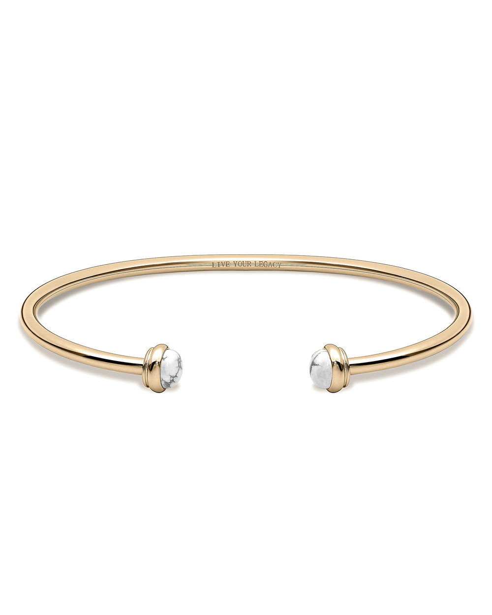 The Cuff - Gold + Carrara