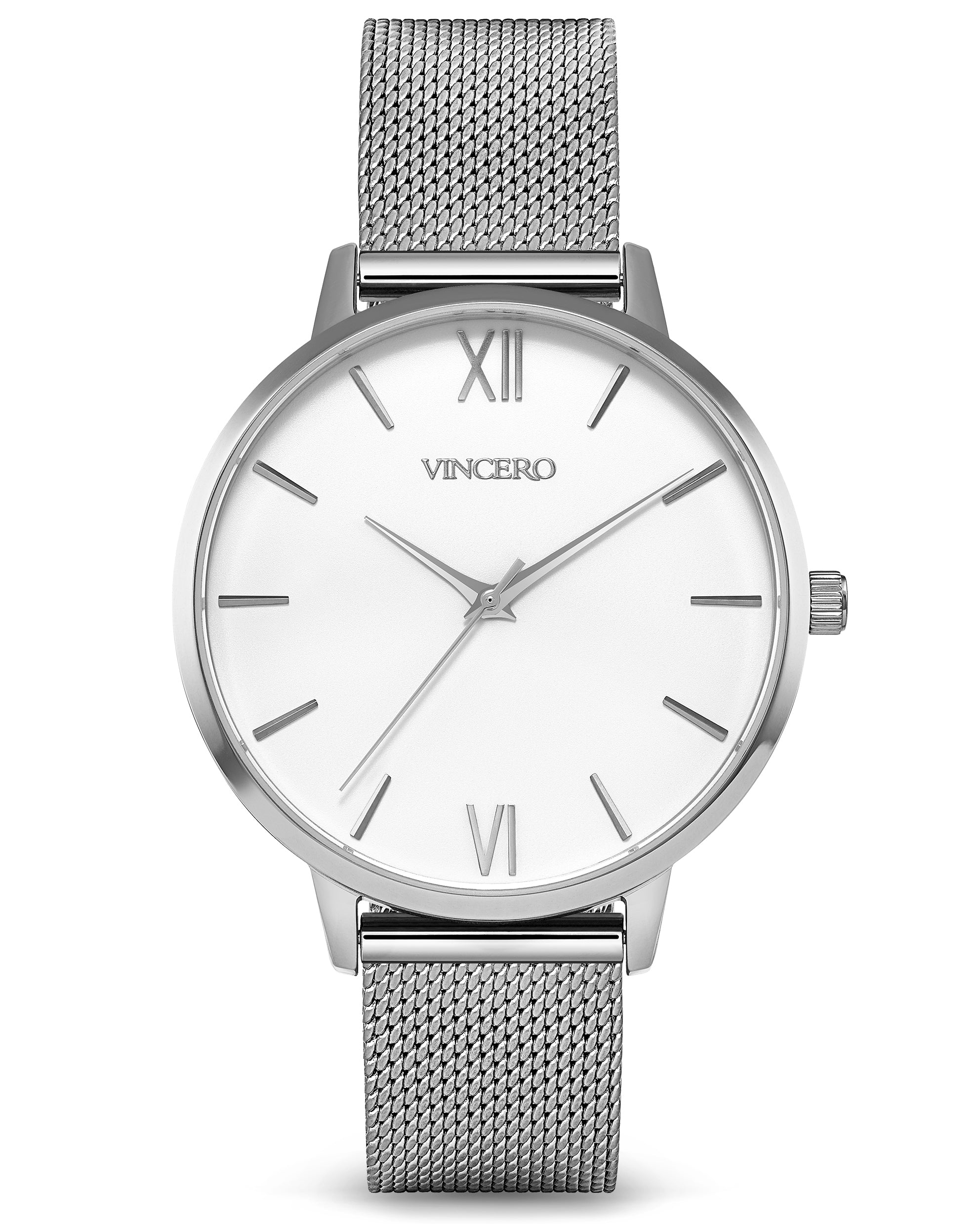 The Eros Mesh - Silver + White