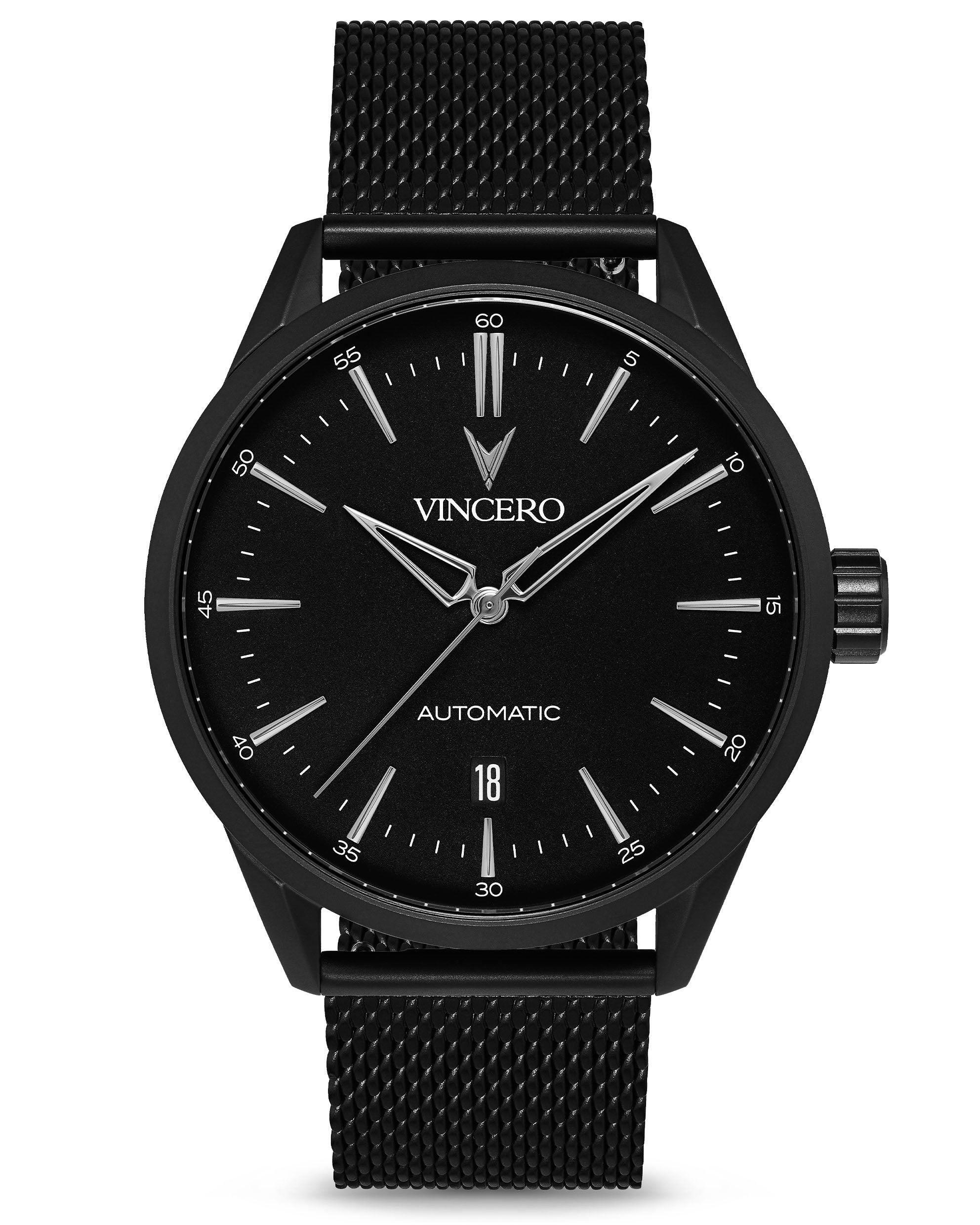 Icon Automatic - Mesh Matte Black