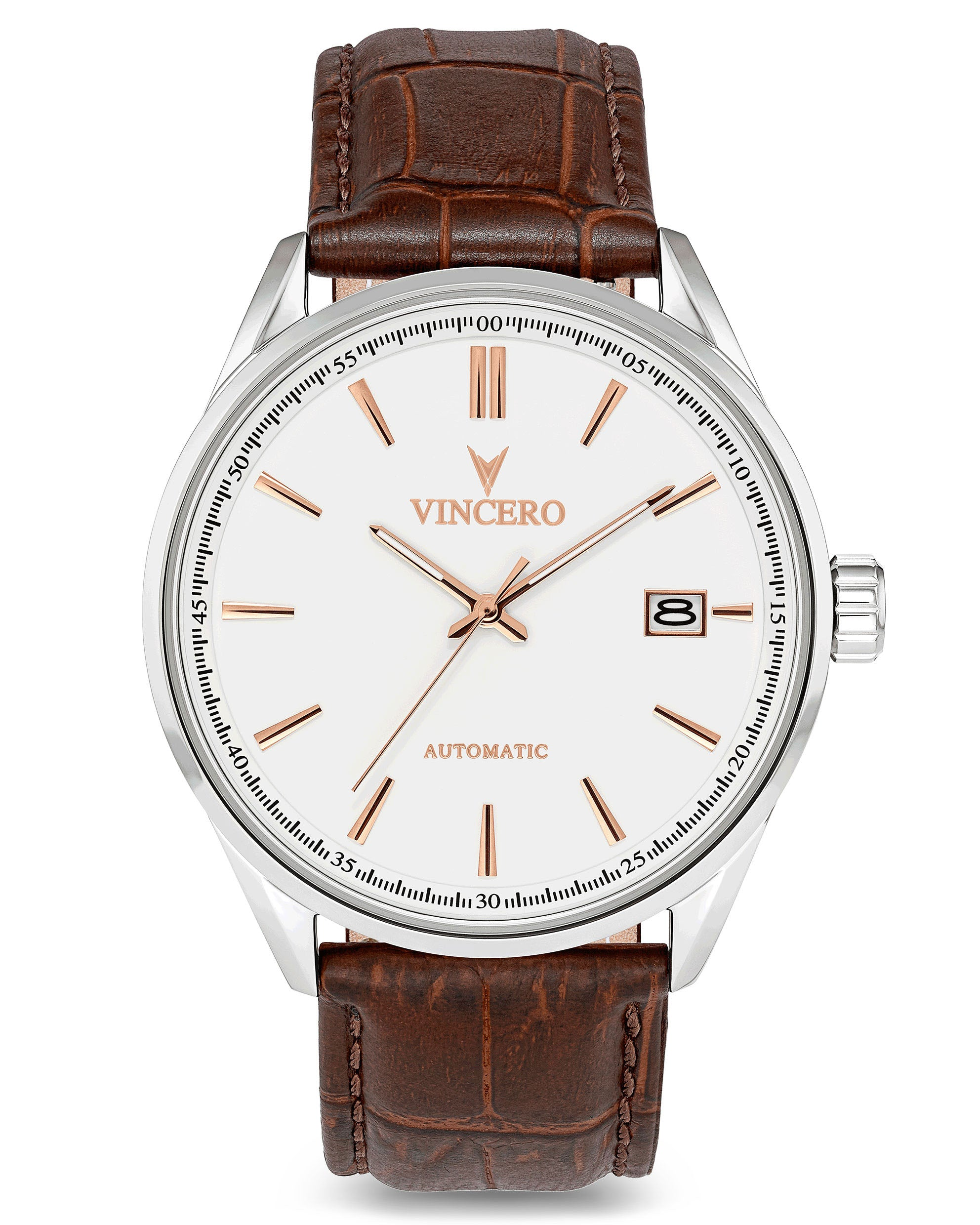 Kairos Automatic - White/Rose Gold