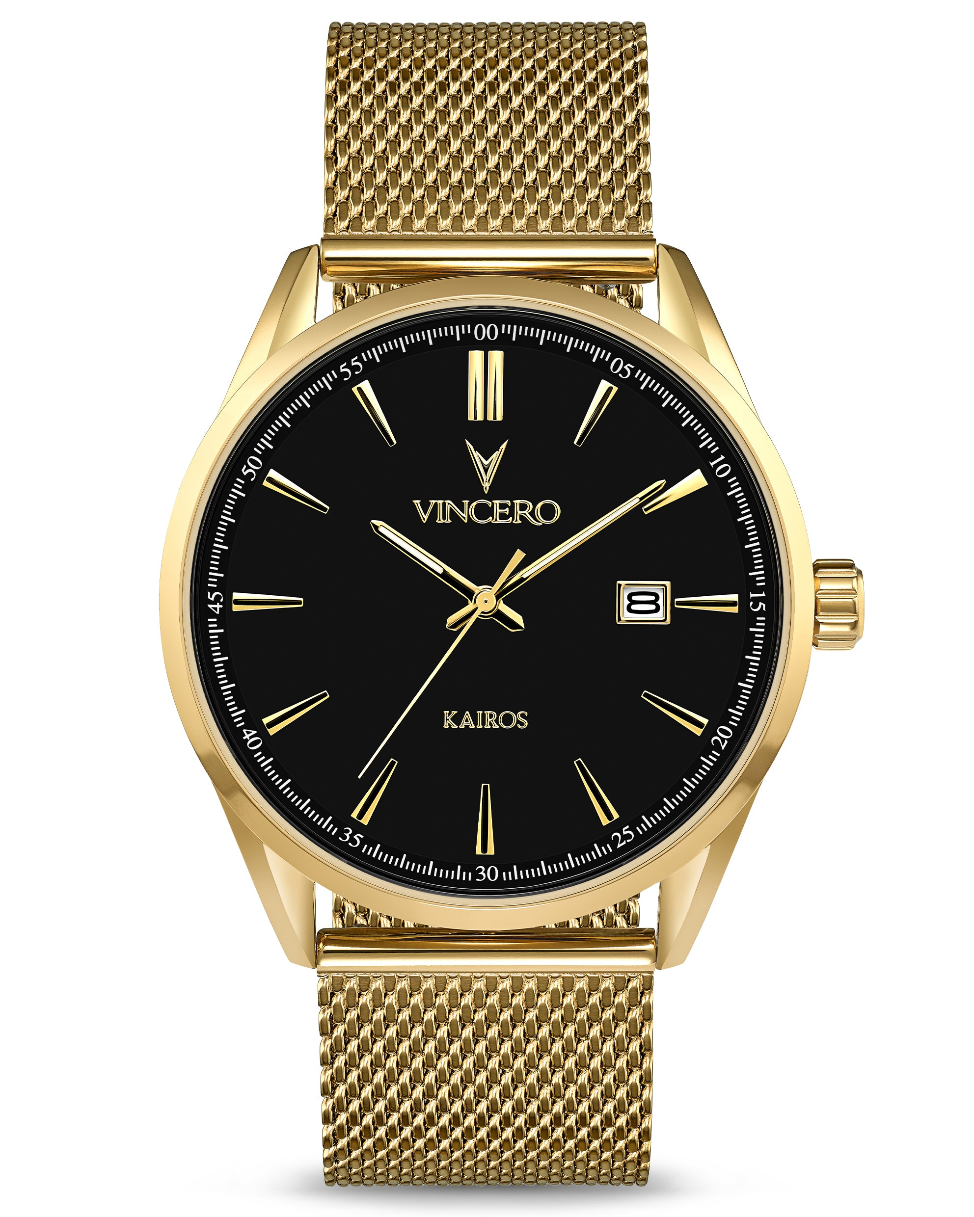 The Kairos Mesh - Black/Gold