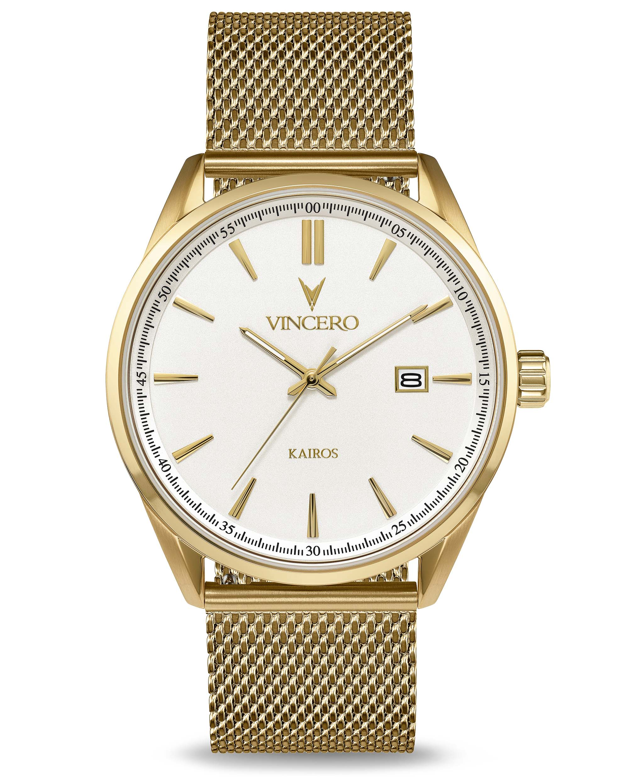 The Kairos - White/Gold