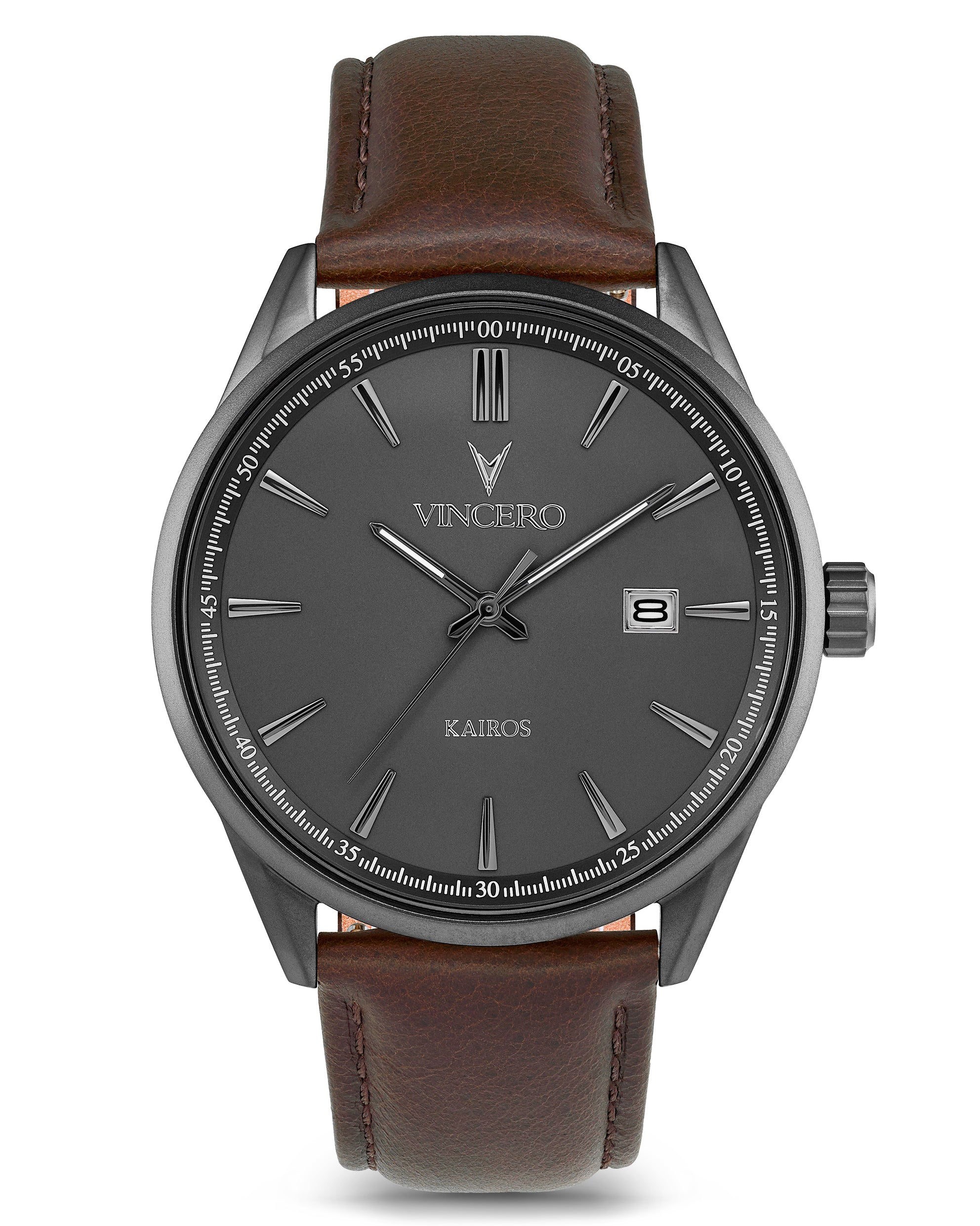The Kairos - Gunmetal/Walnut
