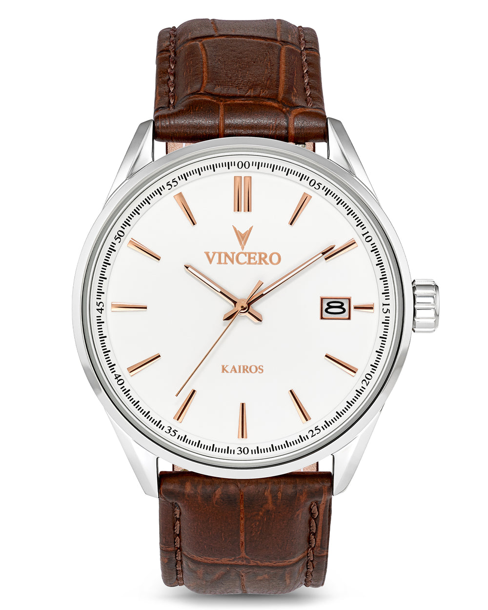 The Kairos - White/Rose Gold