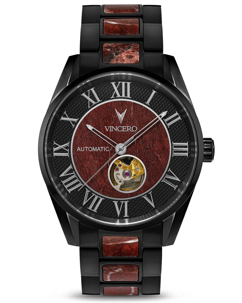 Marble Automatic - Black Rosso