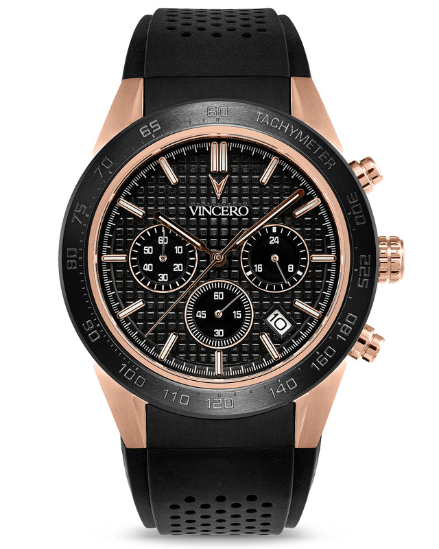 The Rogue - Black + Rose Gold