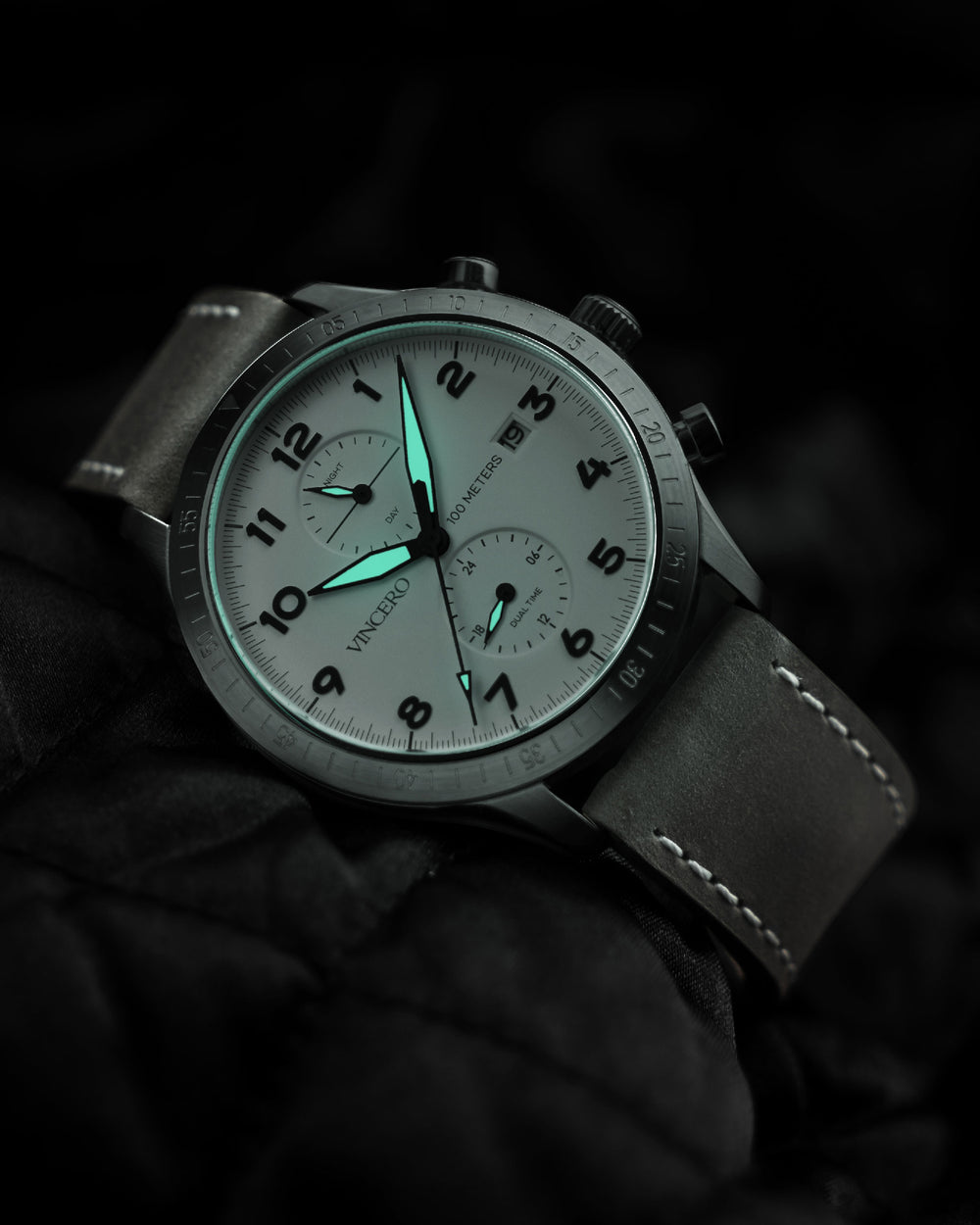 The Altitude - Matte Gray/Brown