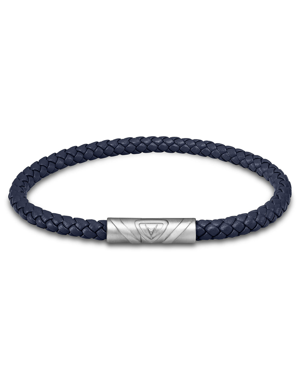 The Delta Single - Navy/Silver