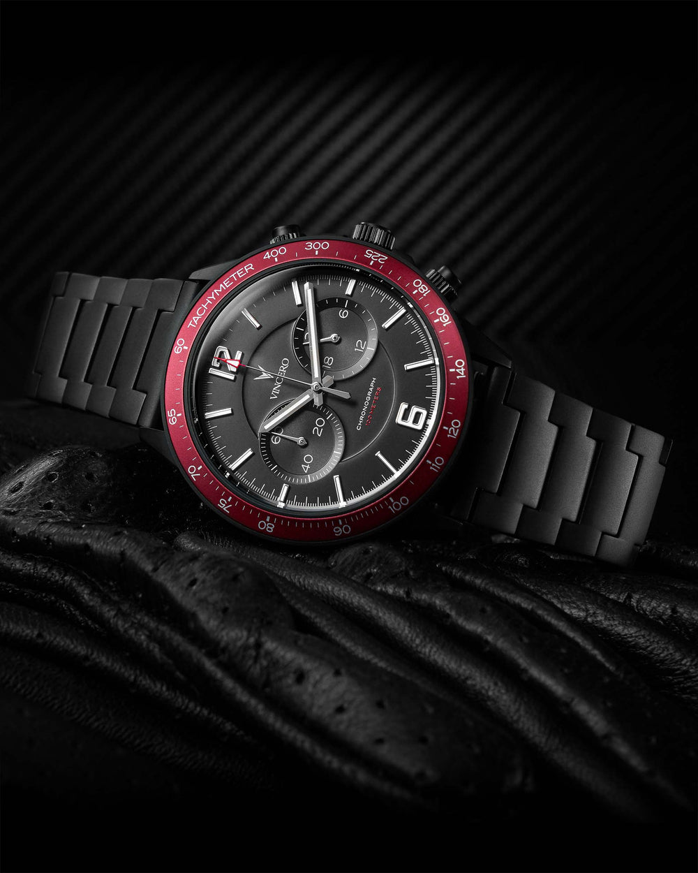 The Apex - Matte Black/Crimson