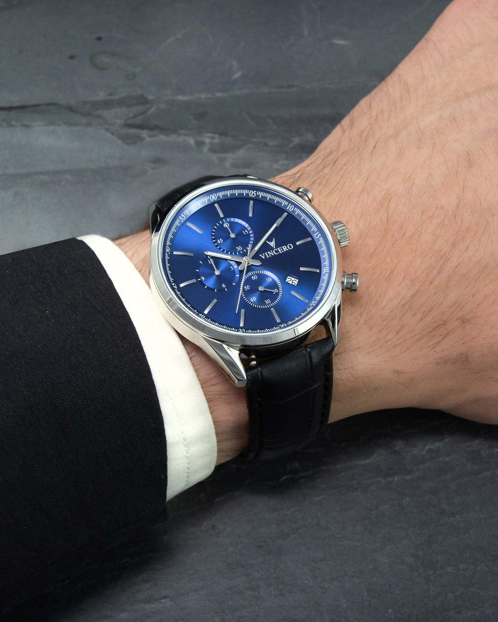 The Chrono S - Blue/Black 40mm