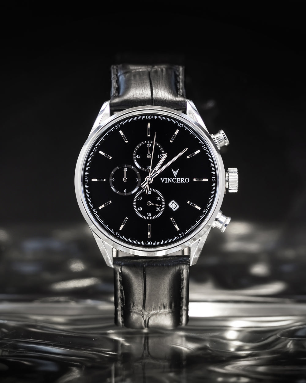 The Chrono S - Black/Silver