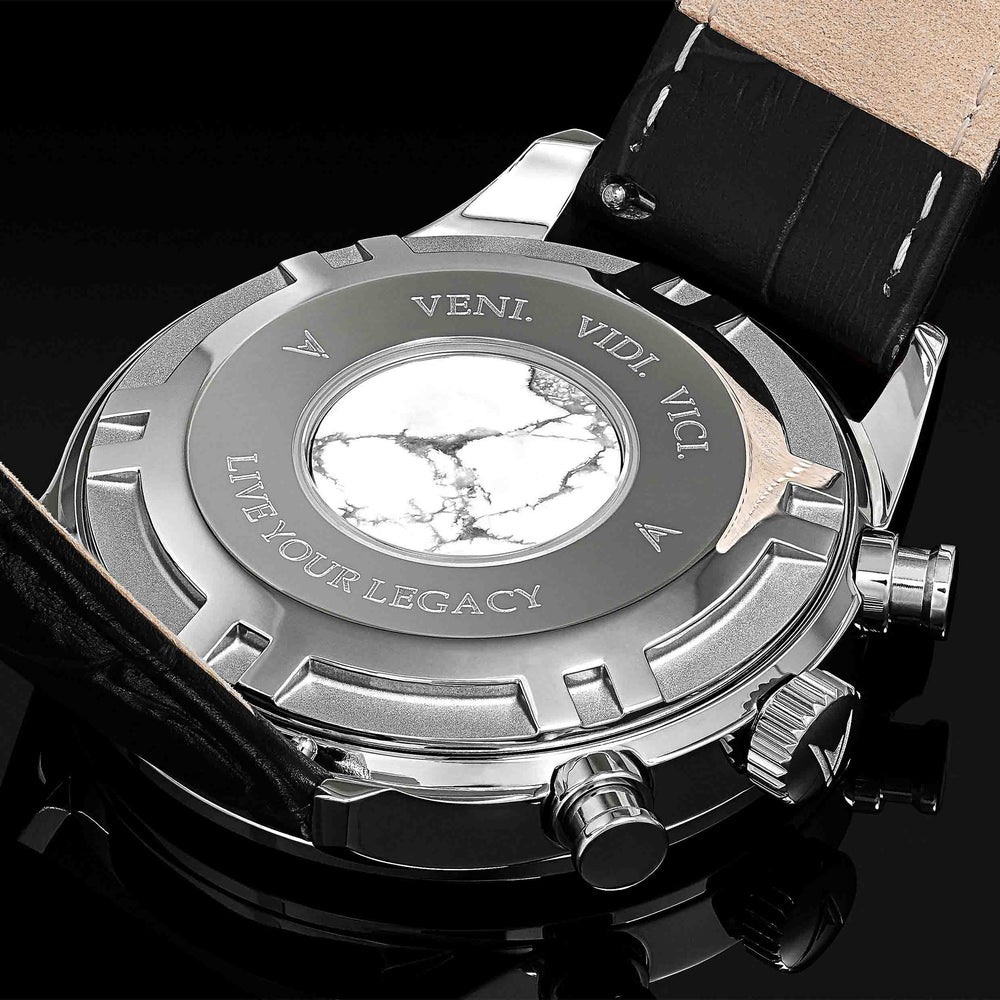 Italian Marble Caseback Men's Luxury Watch
