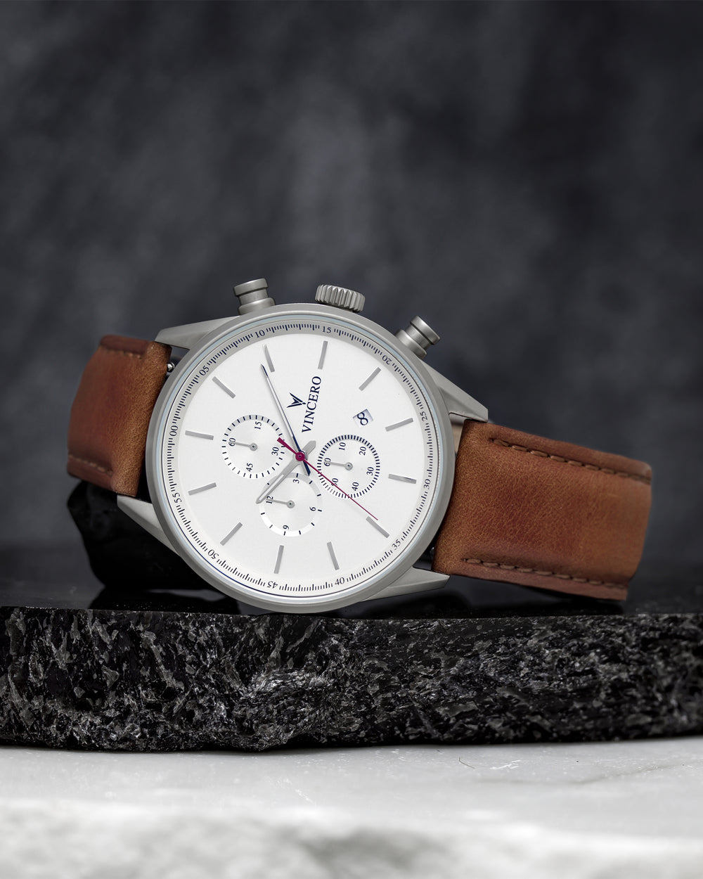 The Chrono S - Matte Silver
