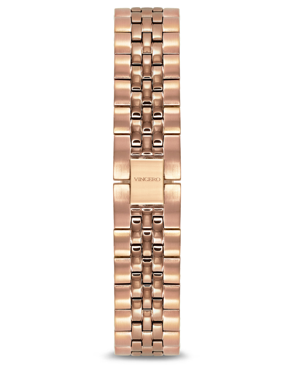 Women's Luxury Rose Gold 316L Stainless Steel Strap