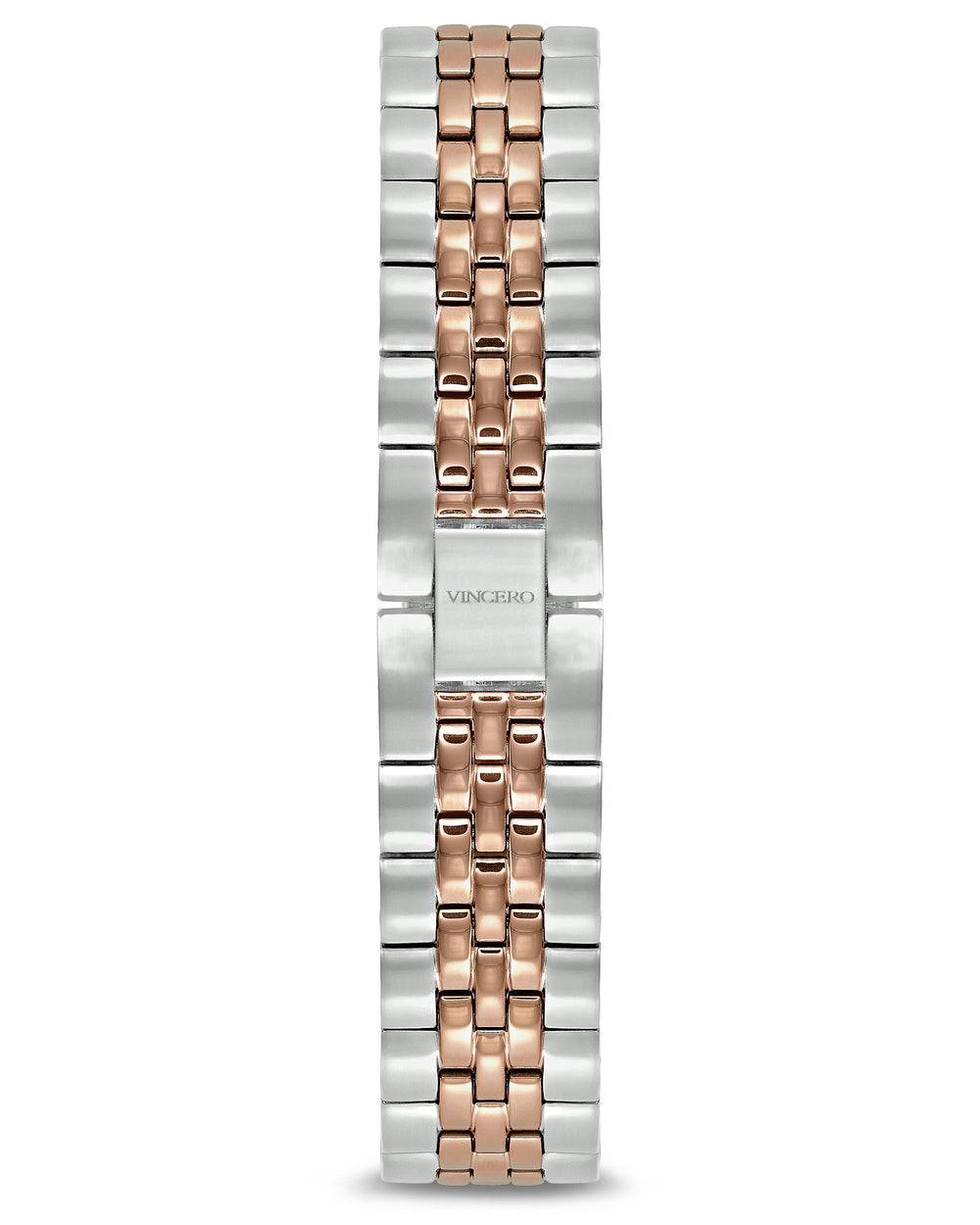 Women's Luxury Rose Gold/Silver 316L Stainless Steel Strap