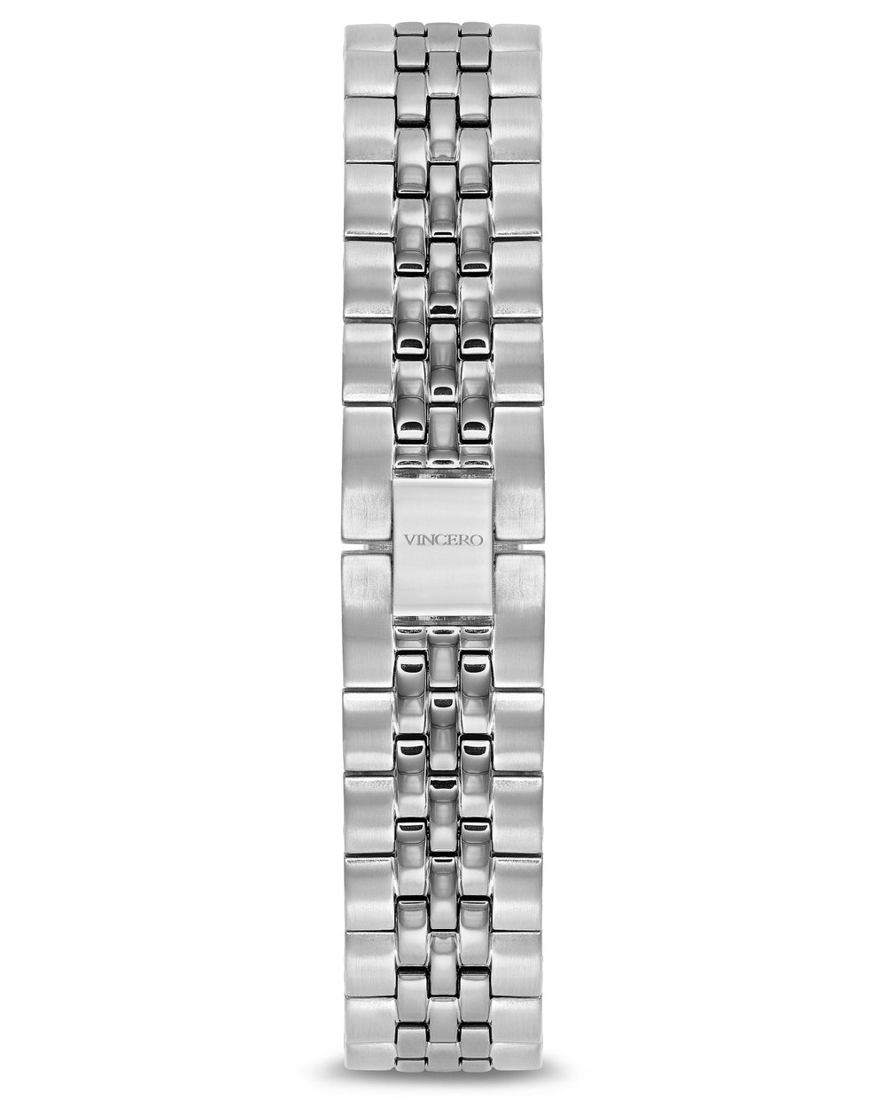 Women's Luxury Silver 316L Stainless Steel Strap